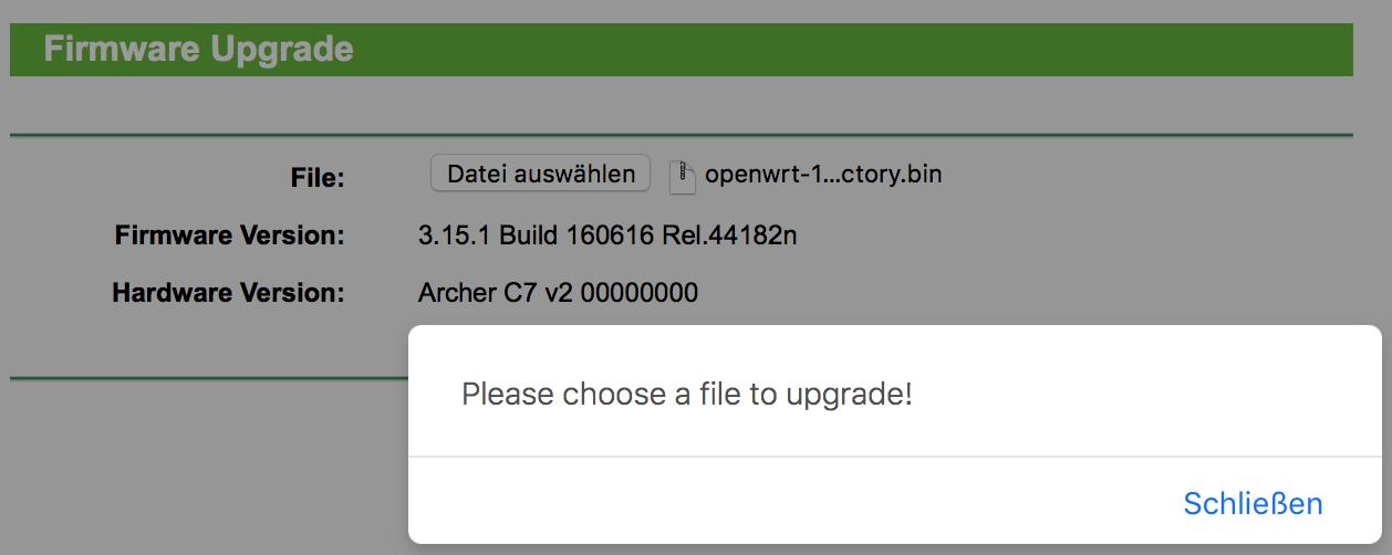 Nils Tobias Schmidt } | OpenWRT/LEDE on TP Link Archer